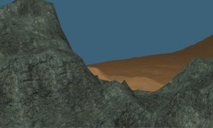 OC Game Procedural Generated Desert Plateau