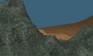 OC Game Procedural Generated Desert Plateau